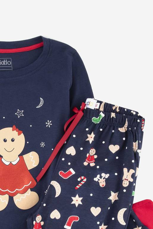 Pijama Navideña Galleta De Jengibre Kiddo De Prati Tienda Online