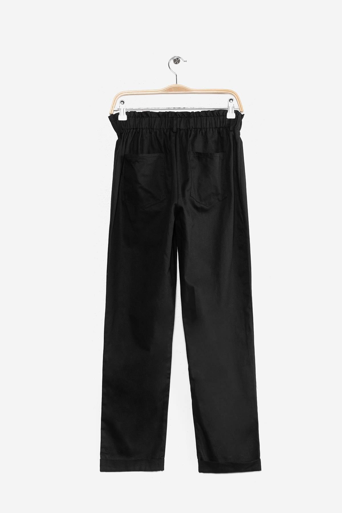 Pantalon Unicolor Con Elastico Atrevida By Eclipse De Prati Tienda Online