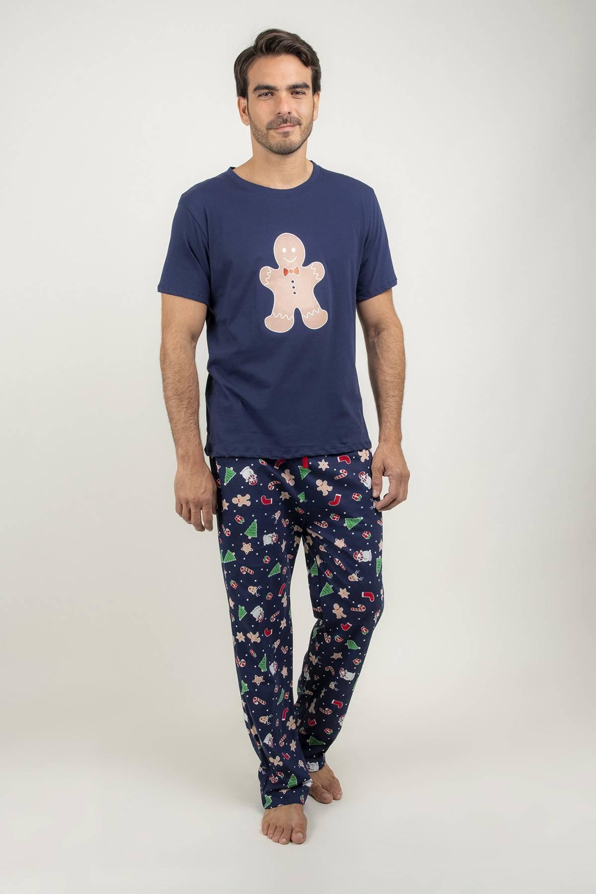 Pijama Navideña Galleta De Jengibre Stefano De Prati Tienda Online